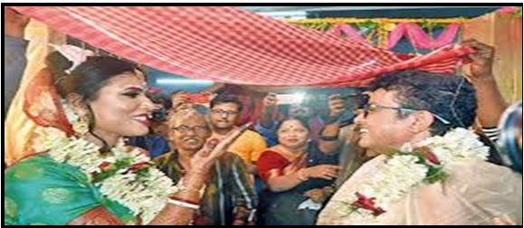 bangal's first transsexual marriage