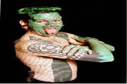 The Lizardman Erik Sprague