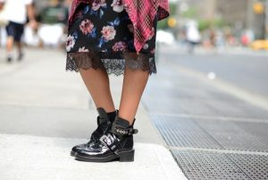 chunky Boots for Dresses