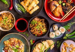 Chinese food tofu