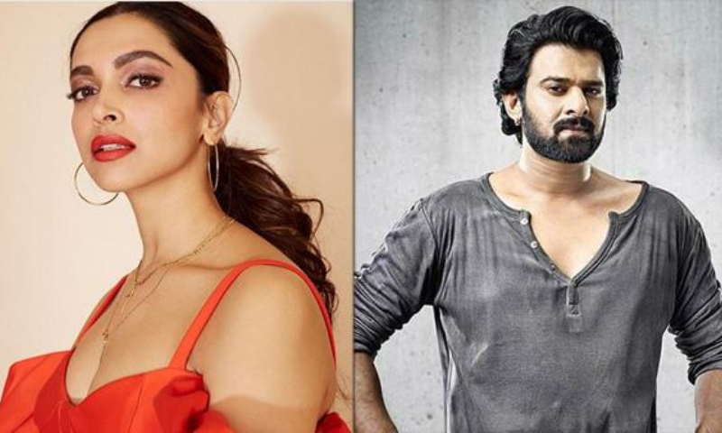 Deepika Padukone and Prabhas