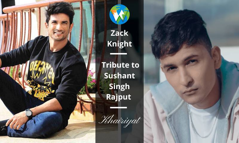 Zack Knight tribute to sushant
