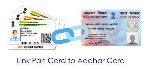 how to link aadhar to pan