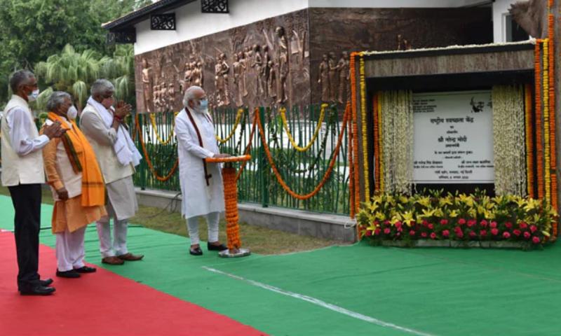 PM Modi inaugurates Rashtriya Swachhata Kendra