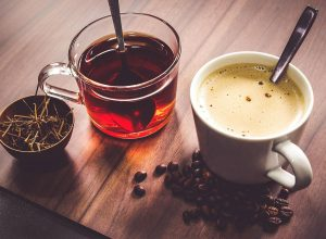Anti-oxidant rich : Coffee and Green Tea