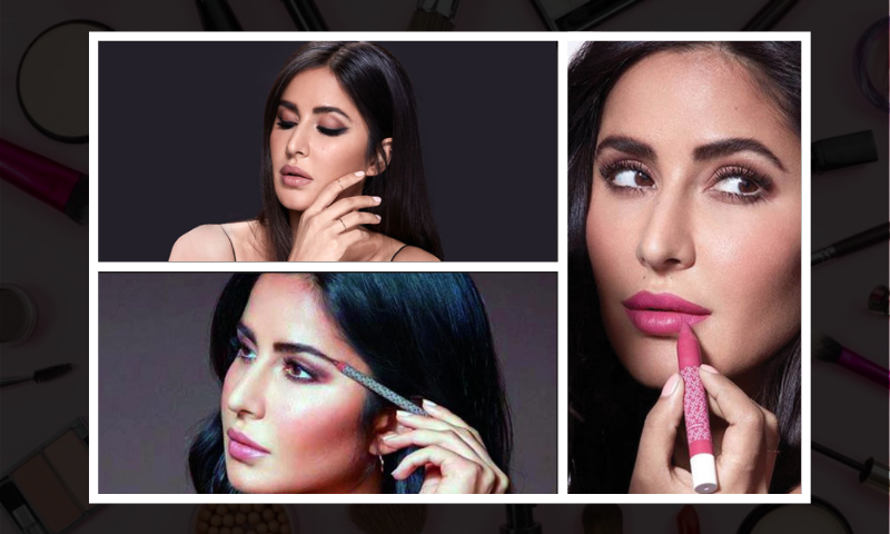 perfect brunch makeup look like Katrina Kaif