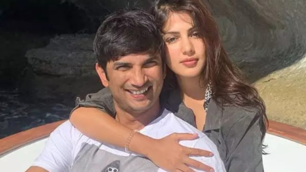 rhea and sushant love story