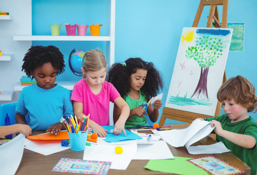 ways to keep kids busy in creative activities