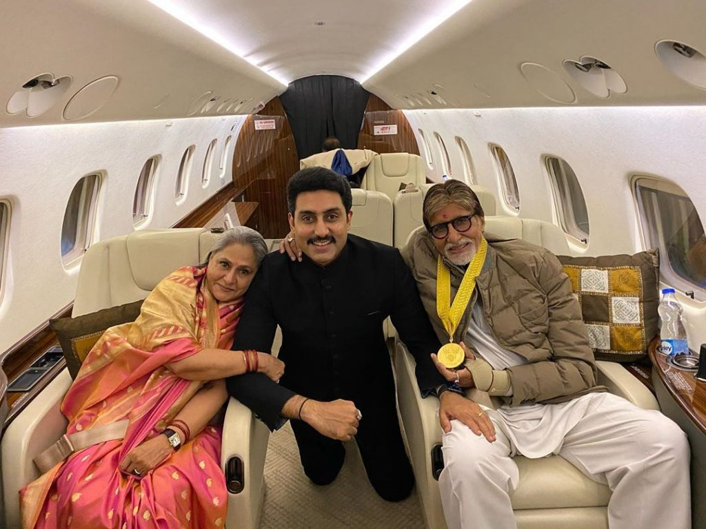 Bollywood celebs having a private jet