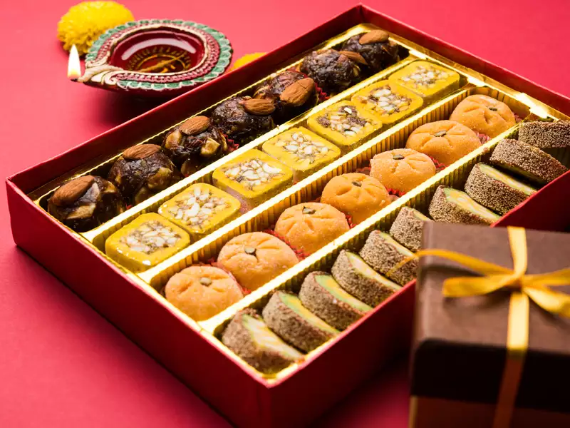 Diwali sweets for diet