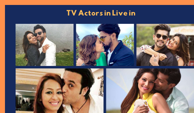 Famous TV Actors in Live in Relationship