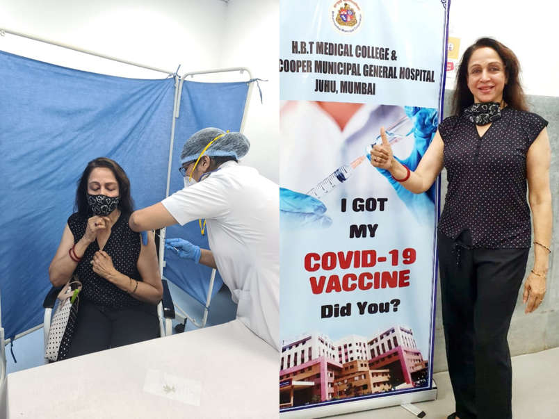 Bollywood celebrities who got the Covid vaccine