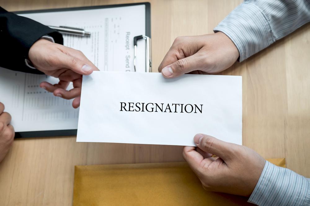 Employees resignation
